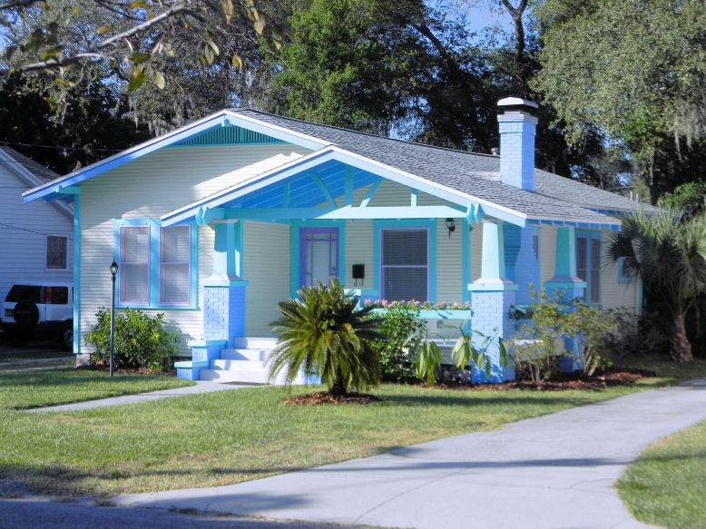 Historic tampa and vintage homes seminole heights pama for Build a house for under 50k